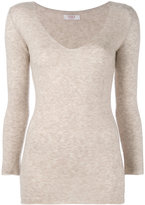 Liska - v-neck jumper - women - Silk/Cashmere - S