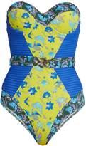PAOLITA Shalimar strapless swimsuit