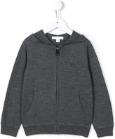 Burberry elbow patch hoodie - kids - Merino - 6 yrs