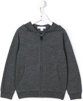 Burberry elbow patch hoodie - kids - Merino - 8 yrs