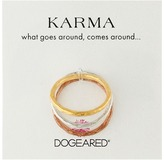 Dogeared Karma Rings Set Of 3