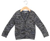 Bonpoint Boys' Patterned Wool Cardigan