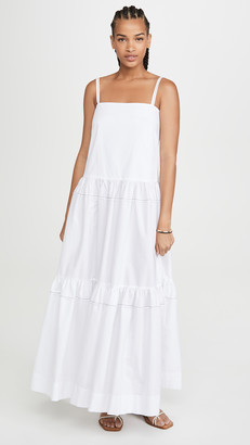 Rosetta Getty Tiered Ruffle Dress
