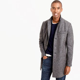 Harris Wharf LondonTM topcoat in pressed wool