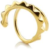 Maria Black Gold Klaxon Twirl Earring