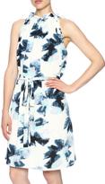 Freeway Blue Belted Dress