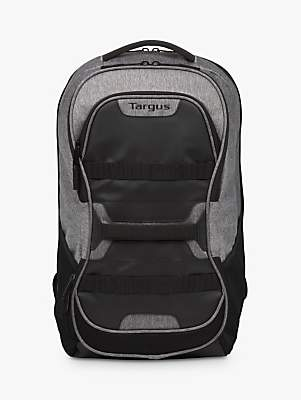 "Targus Work + Play Fitness Backpack for Laptops up to 15.6"", Black/Grey"