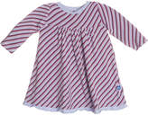 Kickee Pants Printed Swing Dress - Purple, Size 0-3m