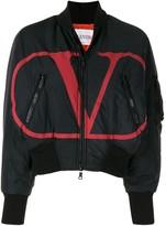 Valentino VLOGO bomber jacket