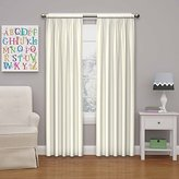 Eclipse Curtains Eclipse Kids 13303042X095IVY Microfiber 42-Inch by 95-Inch Room Darkening Single Window Curtain Panel, Ivory