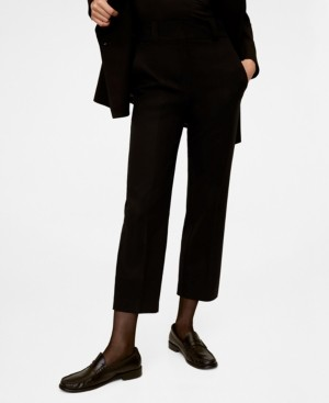 MANGO Pleated Suit Pants