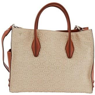 Tod's Alber Elbaz x logo shopping bag