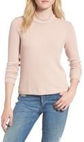 Splendid Women's Sylvie Ribbed Mock Neck Sweater