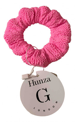 Hunza G Pink Polyamide Hair accessories