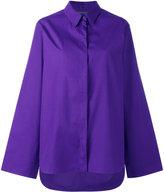 Alberta Ferretti concealed fastening shirt - women - Cotton - 40