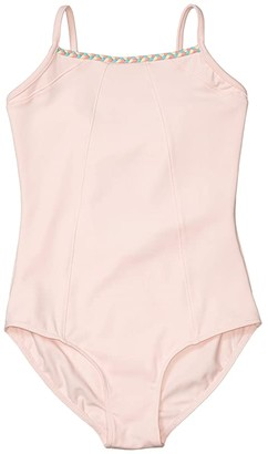 Bloch Open Back Camisole Leotard (Toddler/Little Kids/Big Kids) (Candy Pink) Girl's Jumpsuit & Rompers One Piece