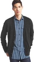 Gap Linen-cotton cardigan sweater
