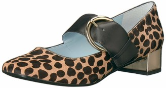 Frances Valentine Women's Katy Mary Jane Flat Multi 8 B US