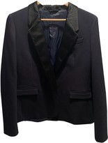 CNC Costume National Navy Jacket for Women