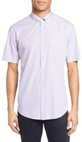 Zachary Prell Friswold Trim Fit Plaid Sport Shirt