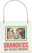 Primitives by Kathy Grandkids Are The Best Presents Mini Hanging Frame Ornament