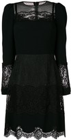 Dolce & Gabbana Lace Panel Dress