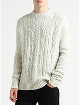 Samsoe & Samsoe Doug Jumper, Clear Cream
