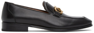 Salvatore Ferragamo Black Rudvil Loafers