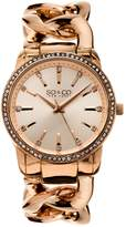 So and Co New York SO & CO New York Women's Chain Link Bracelet Dress Watch