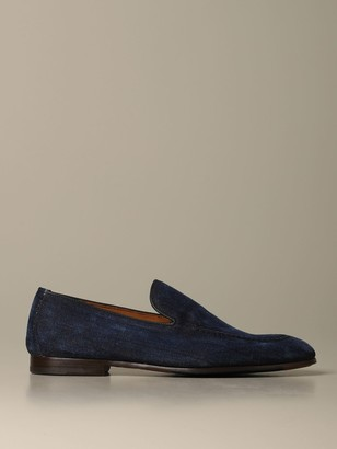 Doucal's Loafers In Denim