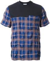 Tim Coppens plaid T-shirt