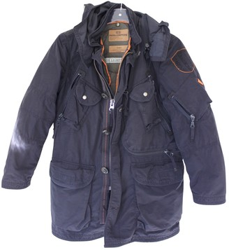 Parajumpers Navy Polyester Jackets & Coats