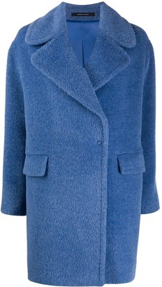 Tagliatore Faux Fur Long-Sleeved Jacket