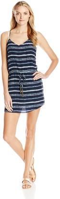 Vix Women's Istanbul Beline 100 Percent Silk Short Dress Cover X-Small