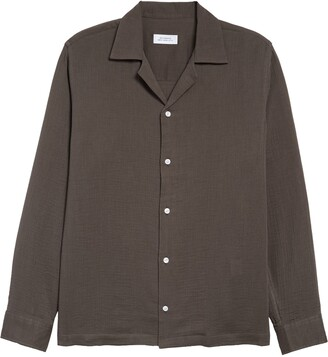 Saturdays NYC Marco Gauze Button-Up Shirt