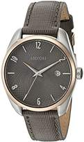 Nixon Women's 'Bullet' Quartz Stainless Steel and Leather Casual Watch, Color:Brown (Model: A4732214-00)