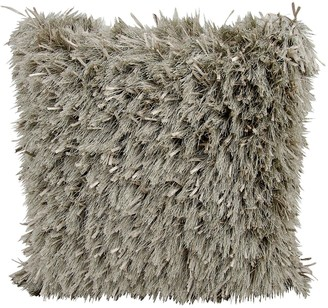Kathy Ireland Medlay Soft Shag Throw Pillow