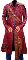 NMFashions Guardians of the Galaxy Star Lord Faux Leather Trench Coat