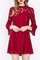Sugar Lips Sugarlips Red Lace Dress