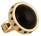 House Of Harlow Black Heirloom Ring