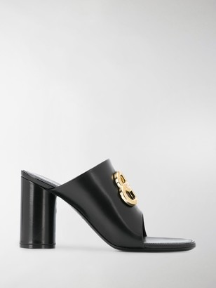 Balenciaga 95mm Logo Sandals