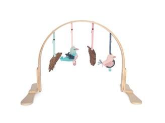 Finn + Emma Height-Adjustable Play Gym Feather