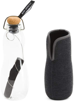 Eau Good Glass Charcoal Water Bottle
