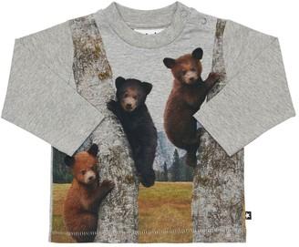 Molo Printed Organic Cotton Jersey T-shirt