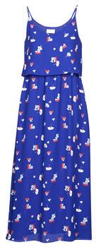 Moony Mood PATRICK women's Long Dress in Blue