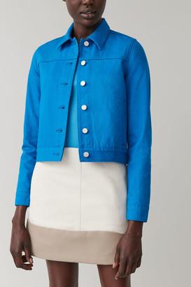 Cos Cropped Denim Jacket