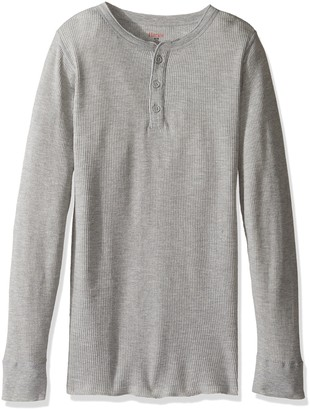 Hanes Men's Big Red Label X-Temp Thermal Henley