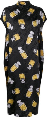 Balenciaga Short-Sleeve Dress