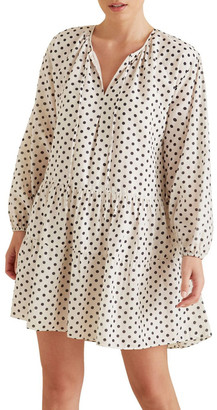 Seed Heritage Spotty Tiered Dress