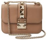 Valentino Garavani Glam Lock Mini Leather Shoulder Bag